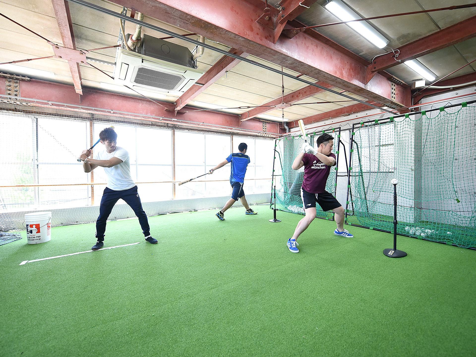 大人のための野球のフィットネスコース