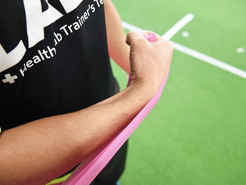 肩甲下筋トレーニング手首2