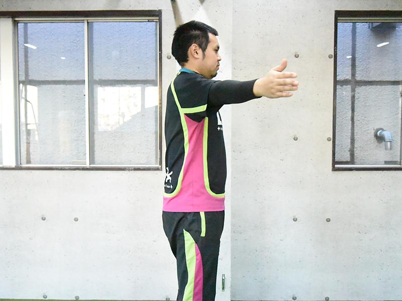 肩甲下筋水平内転2