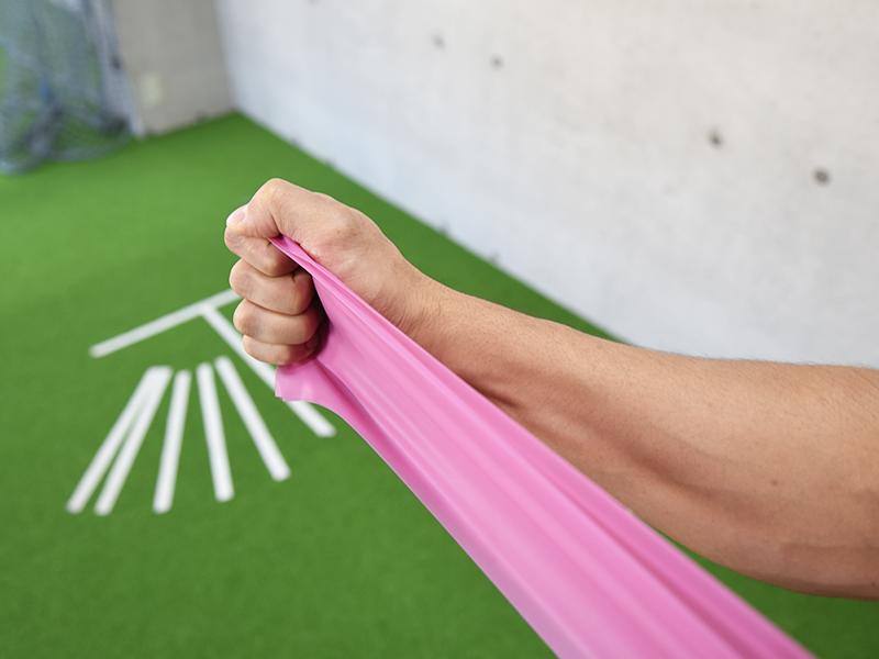 棘下筋トレーニング正しい姿勢7