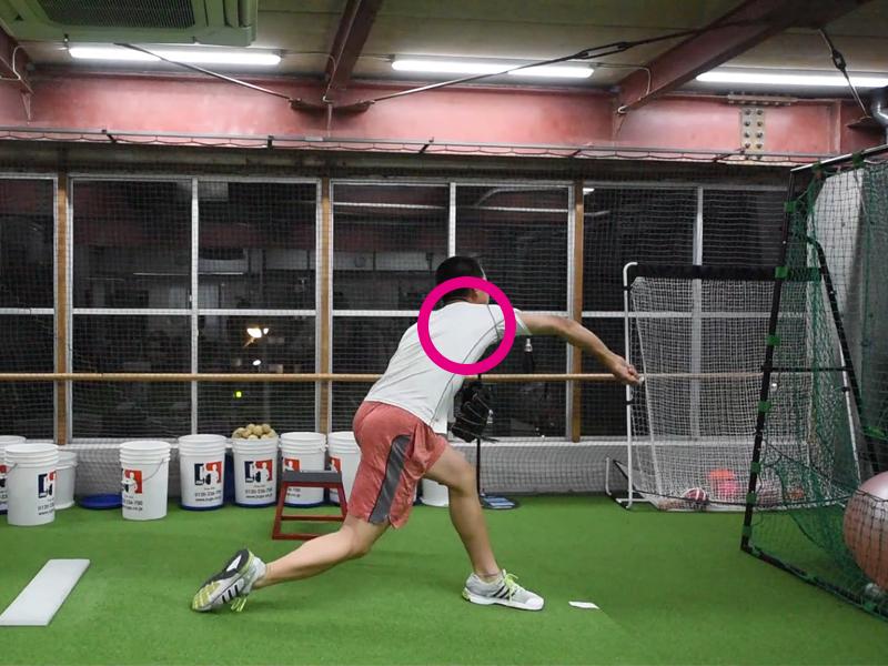 投球による肩後方タイトネス