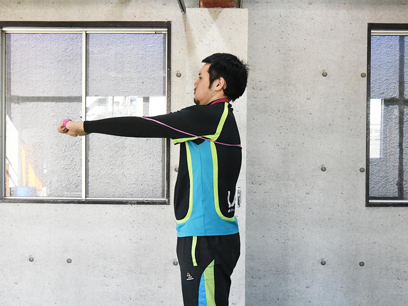 前鋸筋トレーニング3