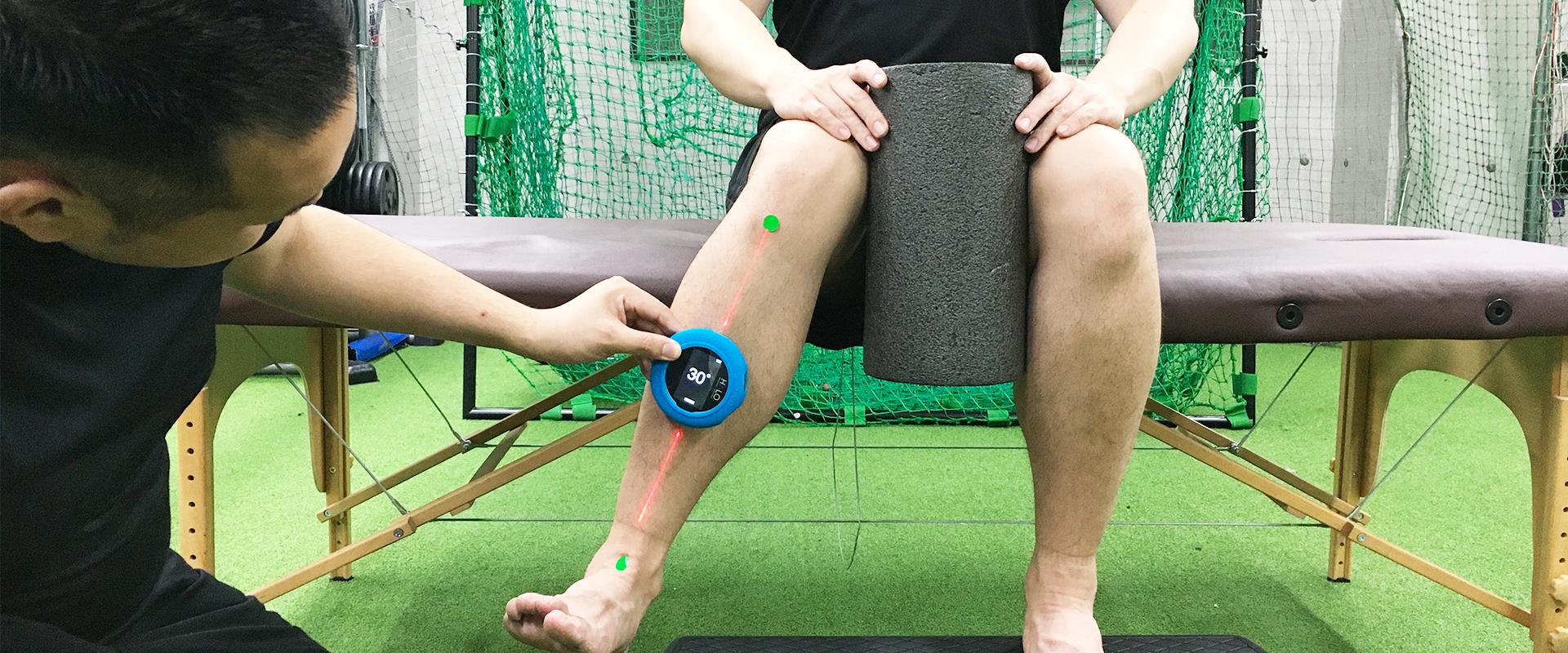 身体の制限や動きの欠陥を特定する