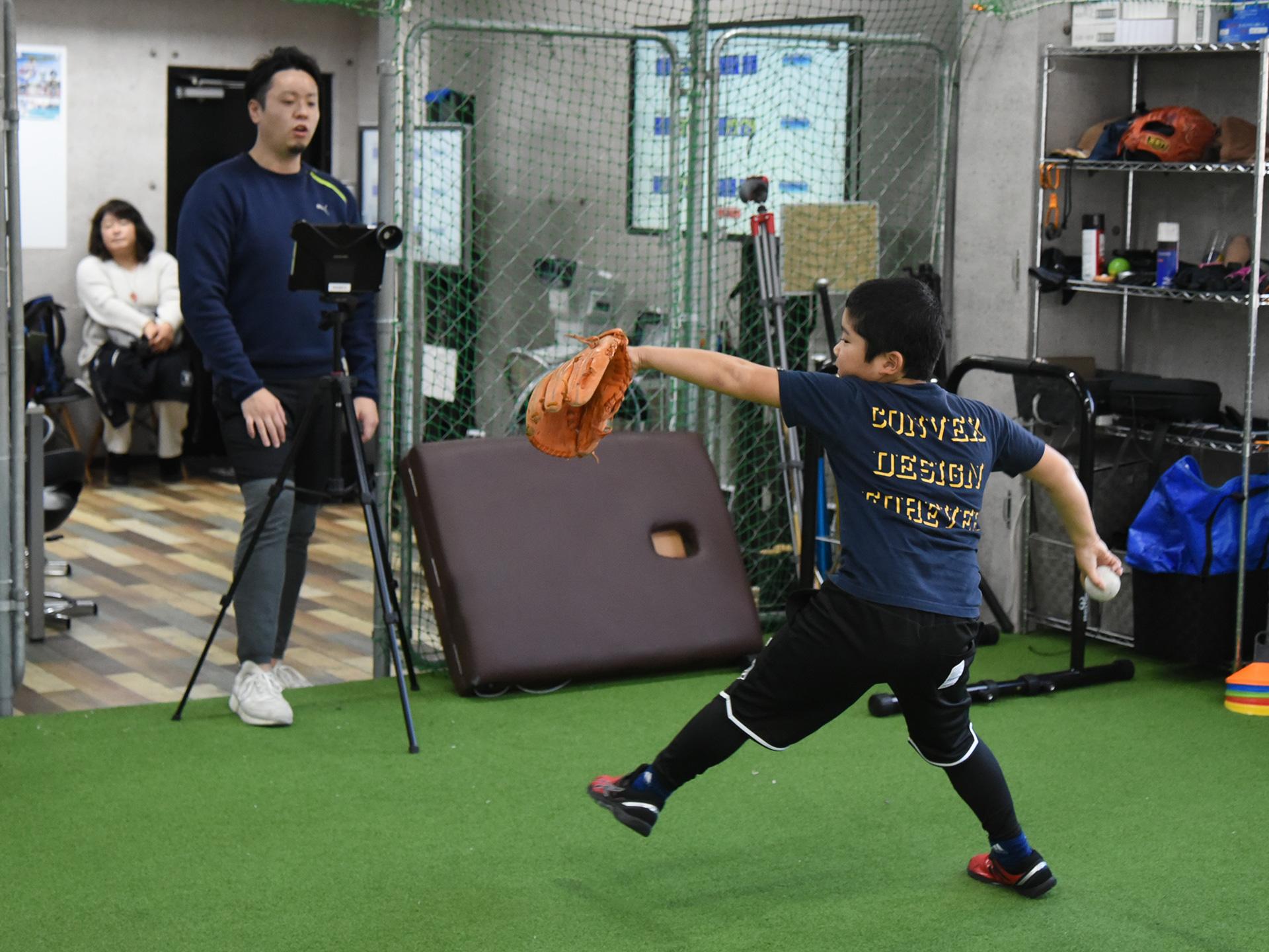 ピッチングトレーニング(投球・送球レッスン)