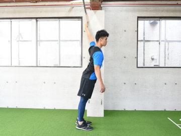 投手に重要な肩甲骨の動きに関与する小胸筋のストレッチ方法と注意点